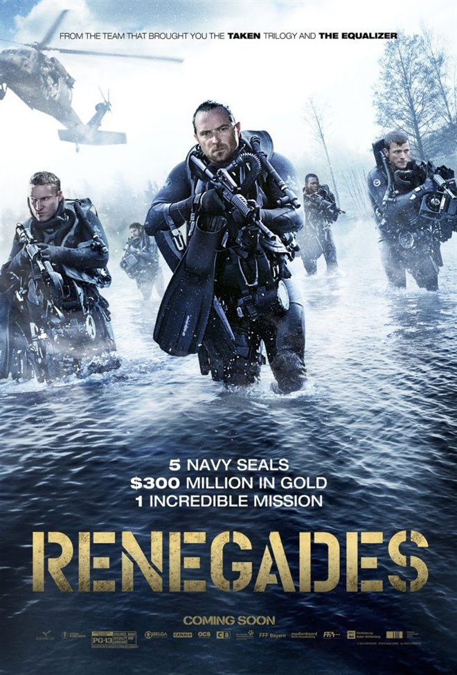 Mercenaires Large Poster