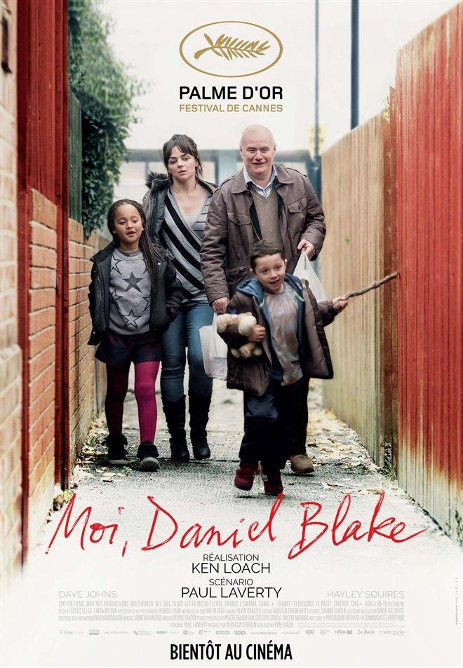Moi, Daniel Blake Large Poster
