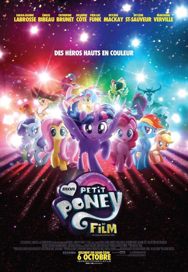 Mon petit poney : Le film Large Poster