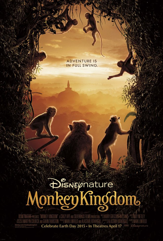 Monkey Kingdom Large Poster