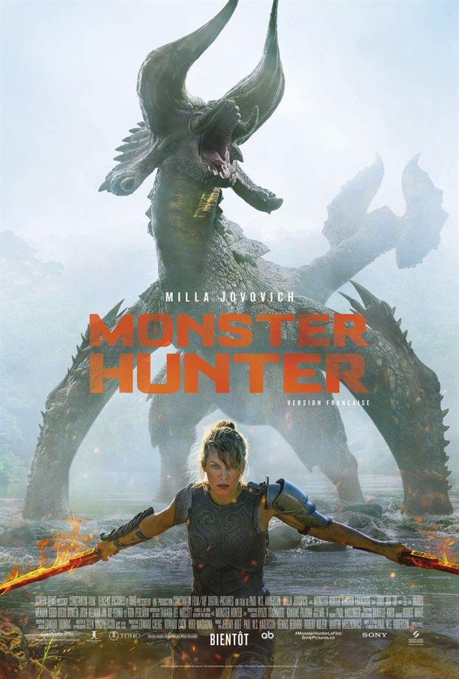 Monster Hunter (v.f.) Large Poster