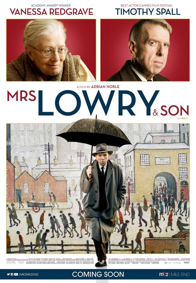 Mrs. Lowry & Son Large Poster