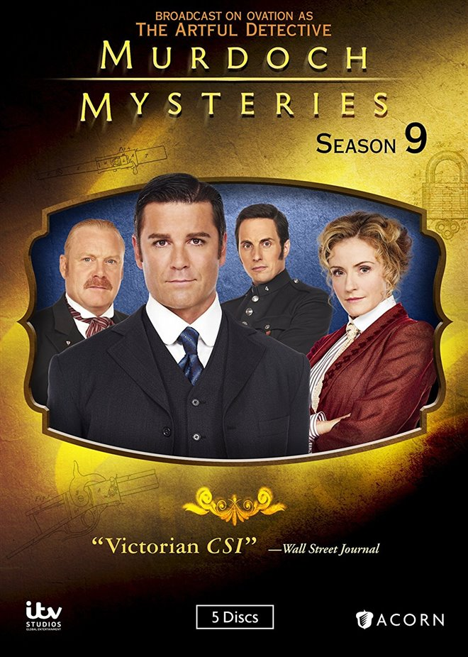 Murdoch Mysteries Large Poster