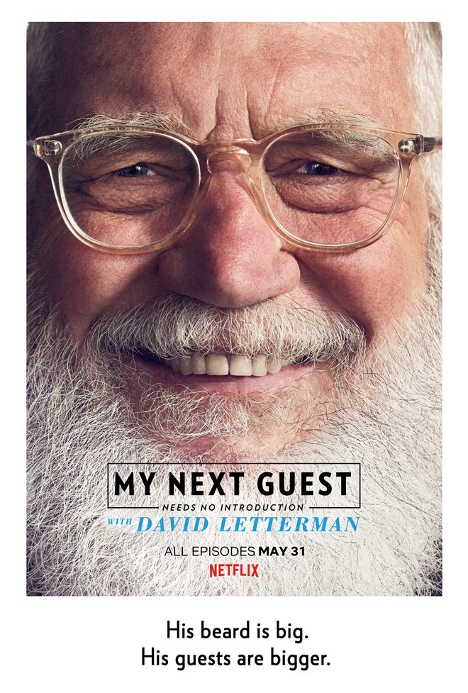 My Next Guest Needs No Introduction with David Letterman (Netflix) Large Poster
