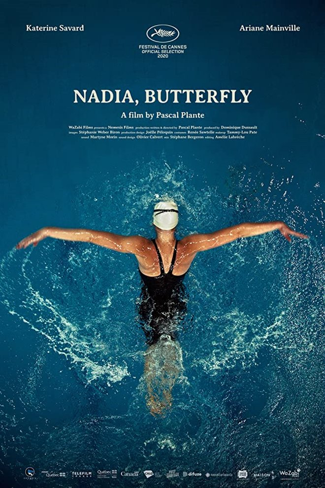 Nadia, Butterfly Large Poster