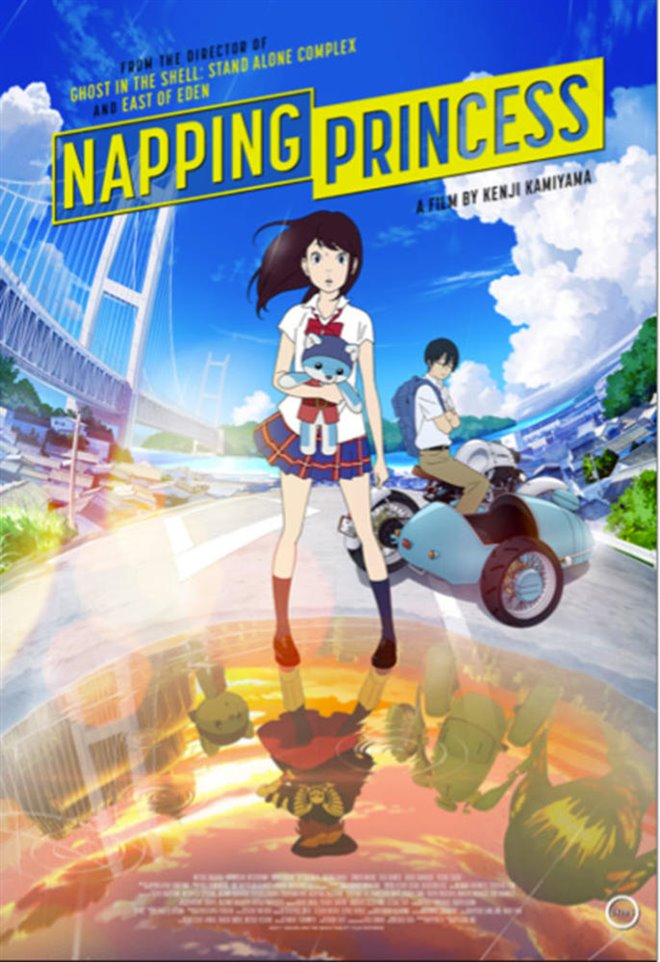 Napping Princess (v.o.s.-t.a.) Large Poster