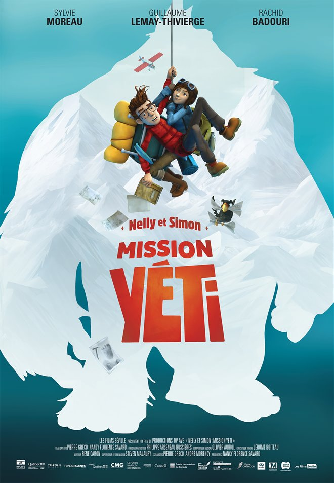 Nelly et Simon : Mission Yéti Large Poster