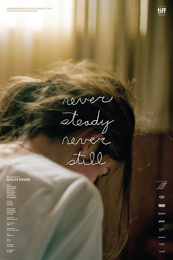 Never Steady, Never Still Large Poster
