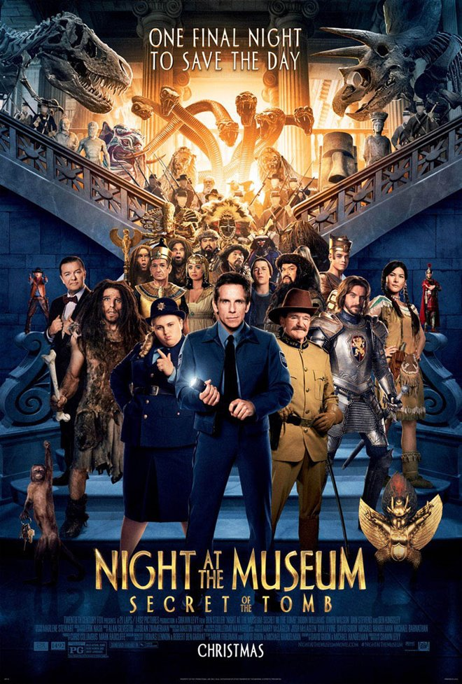 Night at the Museum: Secret of the Tomb Large Poster