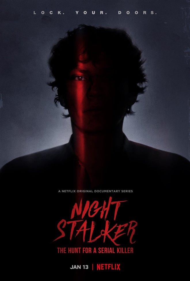 Night Stalker: The Hunt for a Serial Killer (Netflix) Large Poster