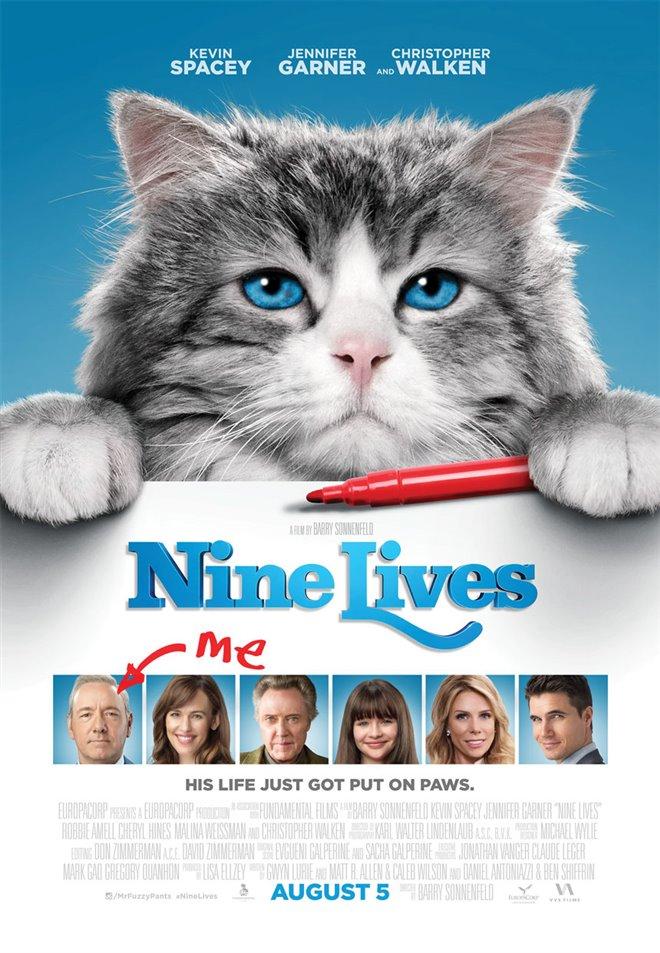 Nine Lives Large Poster