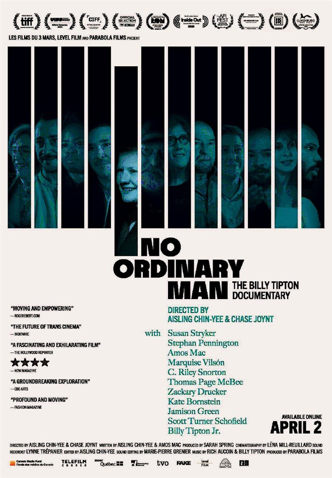 No Ordinary Man Large Poster