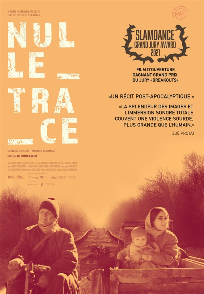 No Trace Large Poster