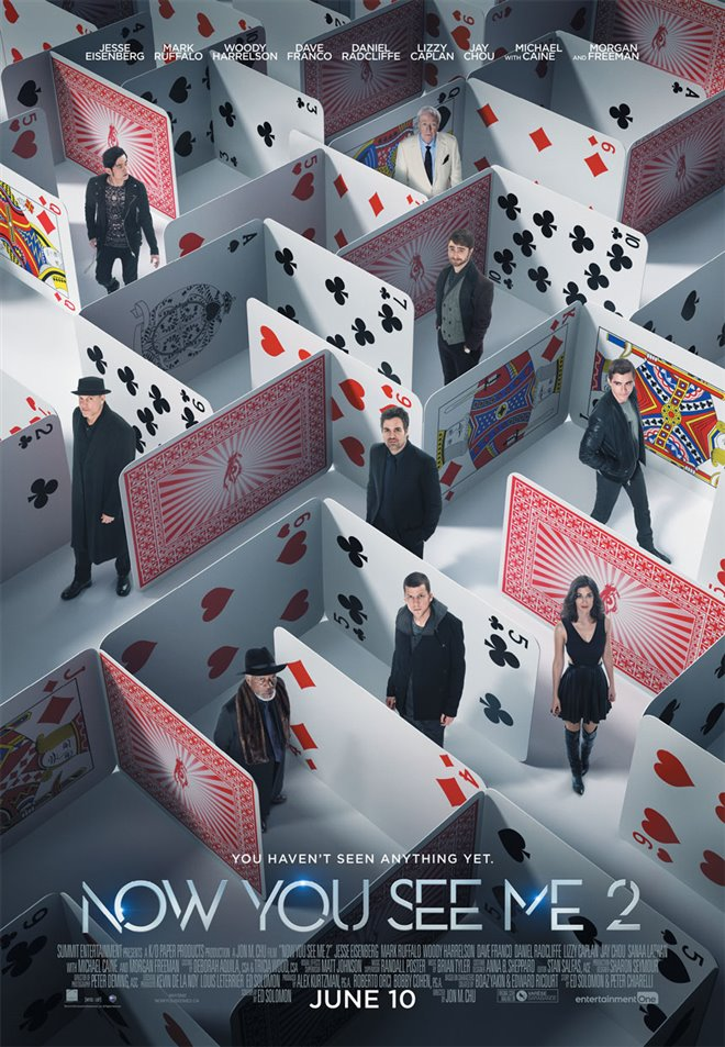 Now You See Me 2 Large Poster