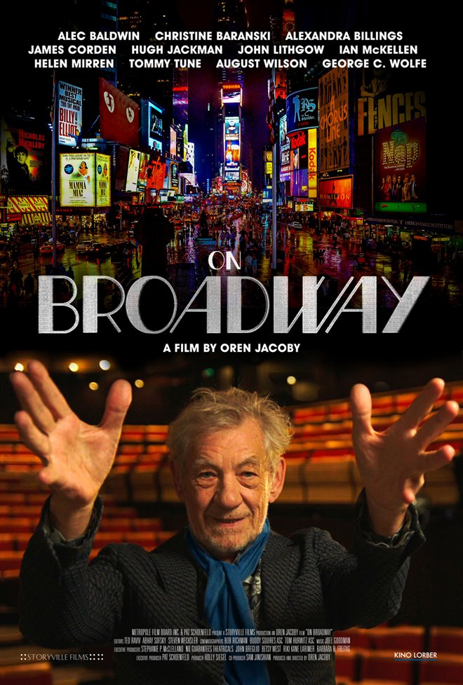 On Broadway Large Poster