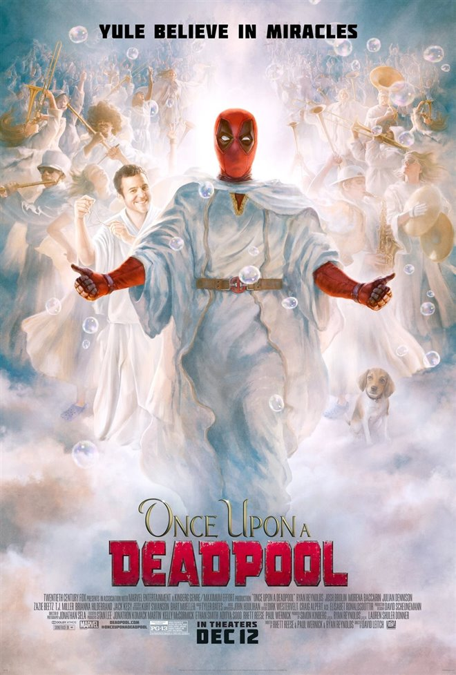 Once Upon a Deadpool Large Poster