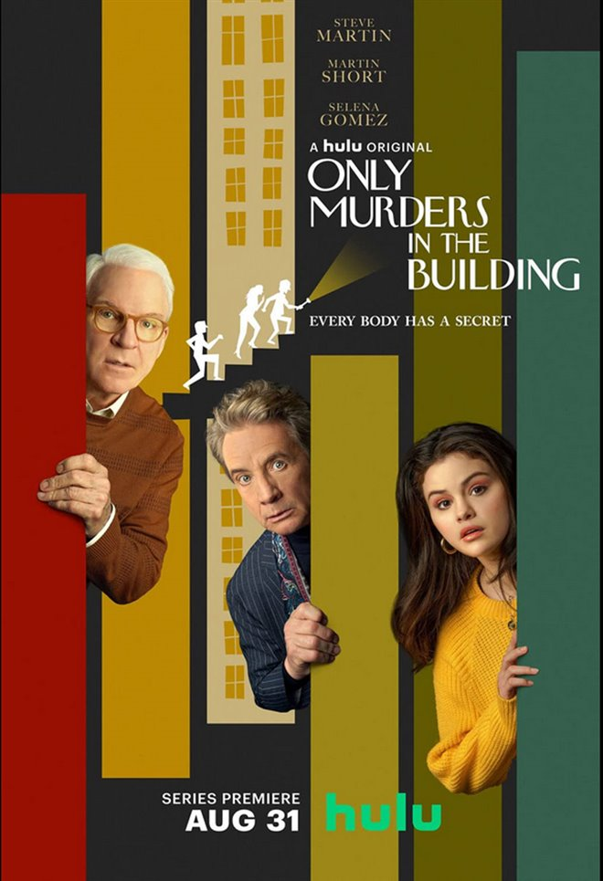 Only Murders in the Building Large Poster