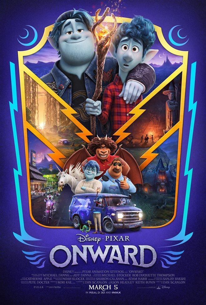 Onward Large Poster