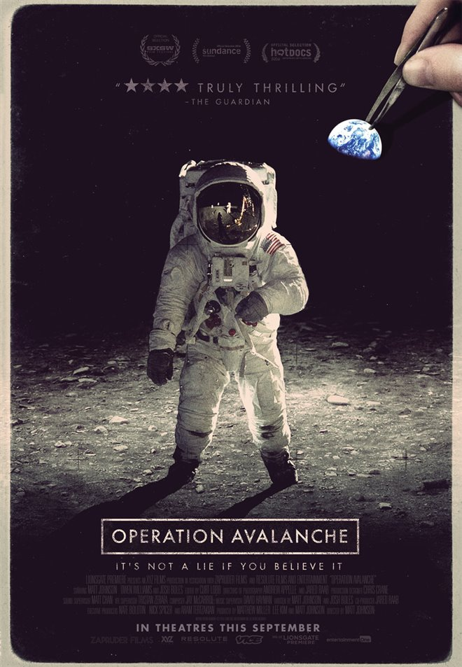 Operation Avalanche Large Poster
