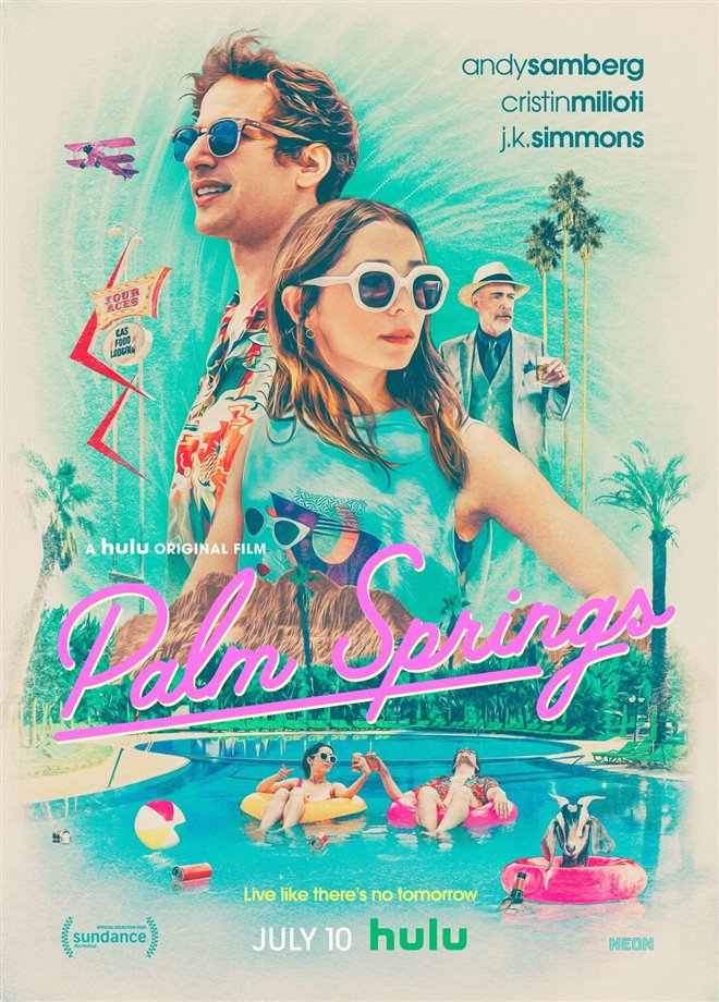 Palm Springs Large Poster