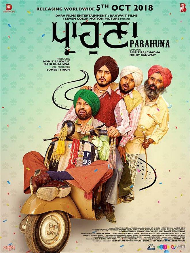 Parahuna Large Poster