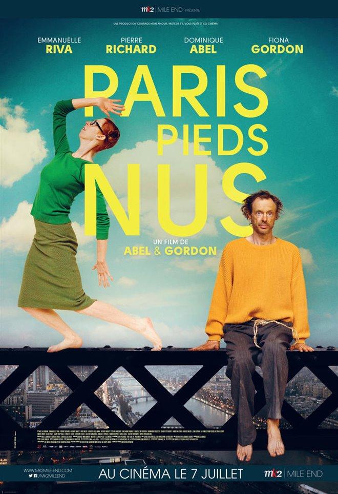 Paris pieds nus Large Poster