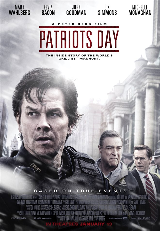 Patriots Day Large Poster