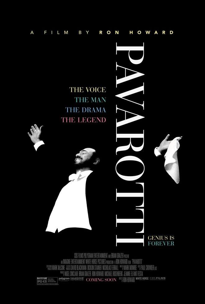 Pavarotti Large Poster
