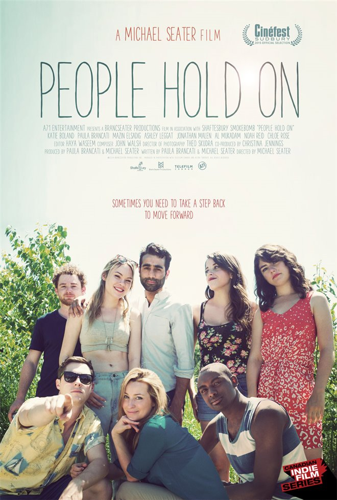 People Hold On Large Poster