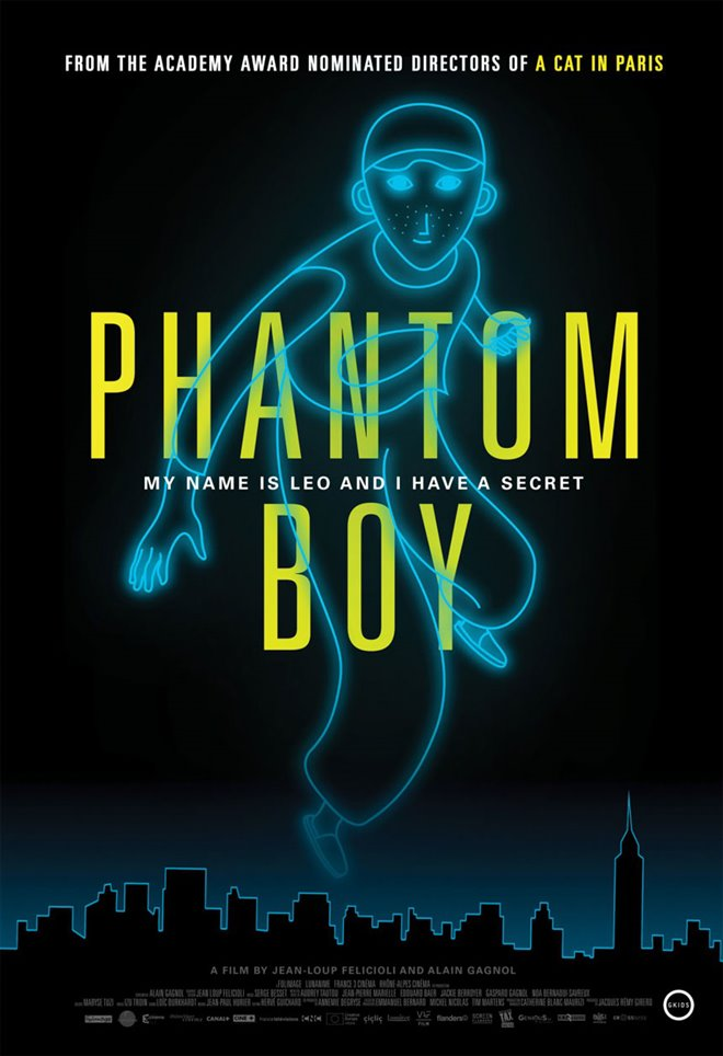 Phantom Boy Large Poster
