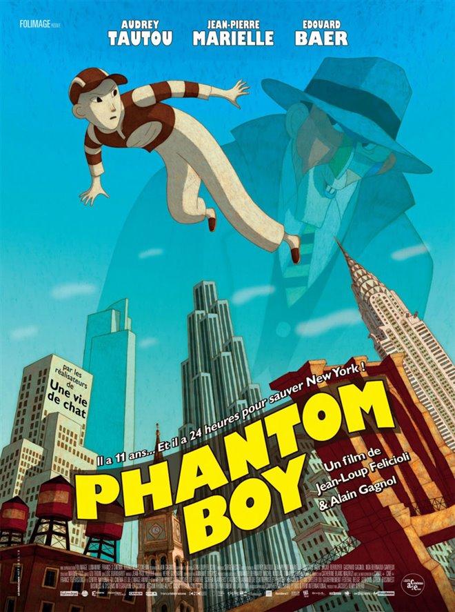 Phantom Boy (v.o.f.) Large Poster