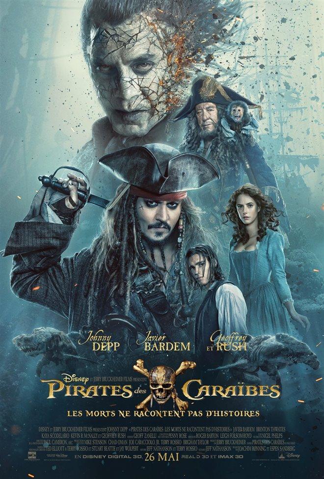 Pirates des Caraïbes : Les morts ne racontent pas d'histoires Large Poster