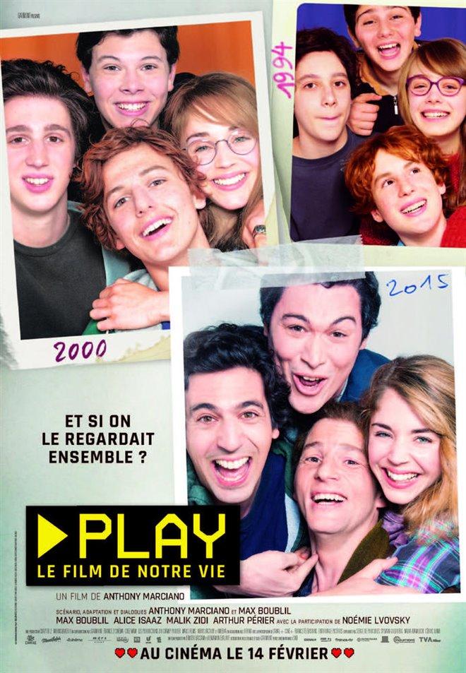 Play : Le film de notre vie Large Poster