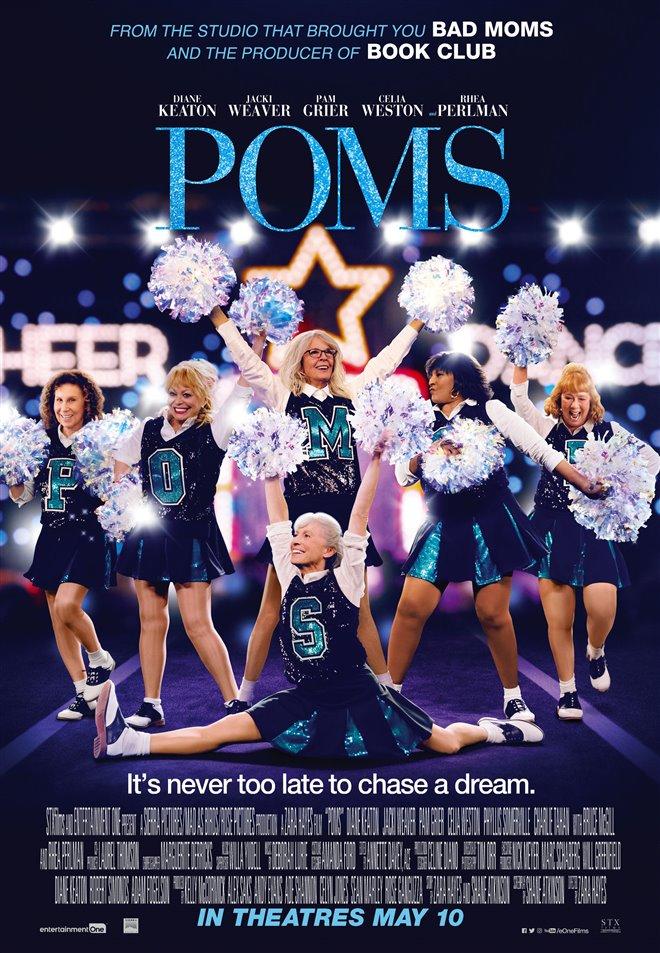 Poms Large Poster