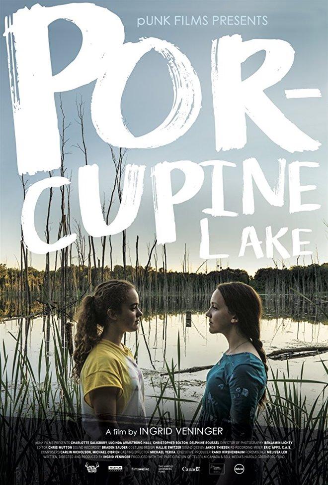 Porcupine Lake Large Poster