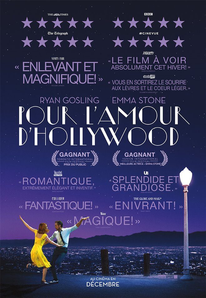 Pour l'amour d'Hollywood Large Poster