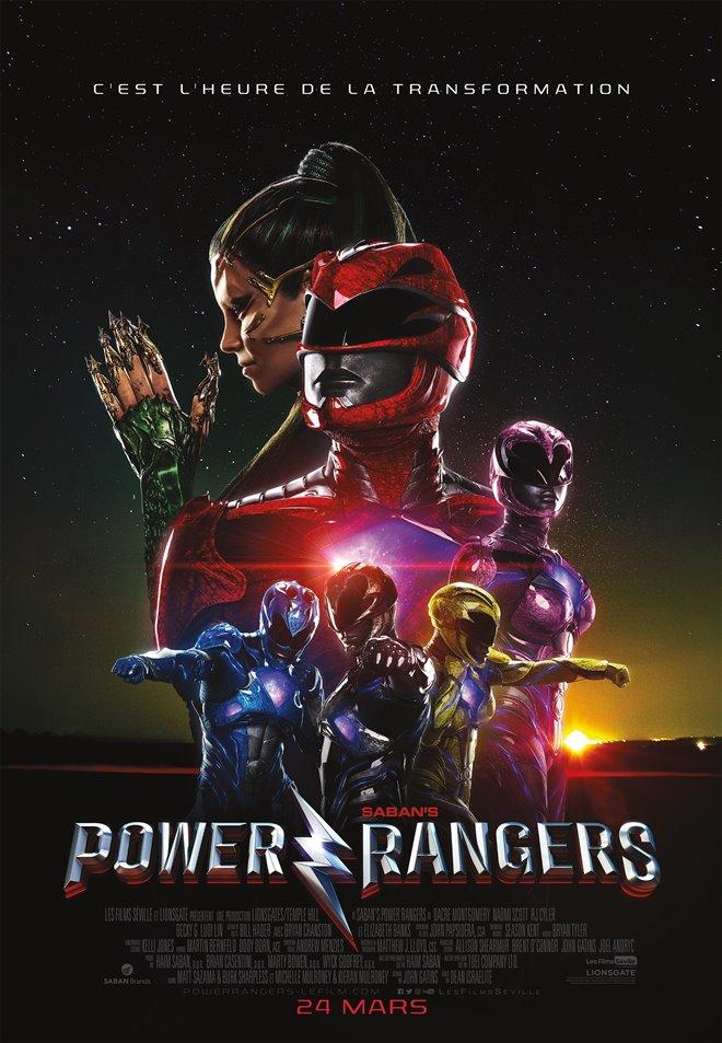 Power Rangers (v.f.) Large Poster