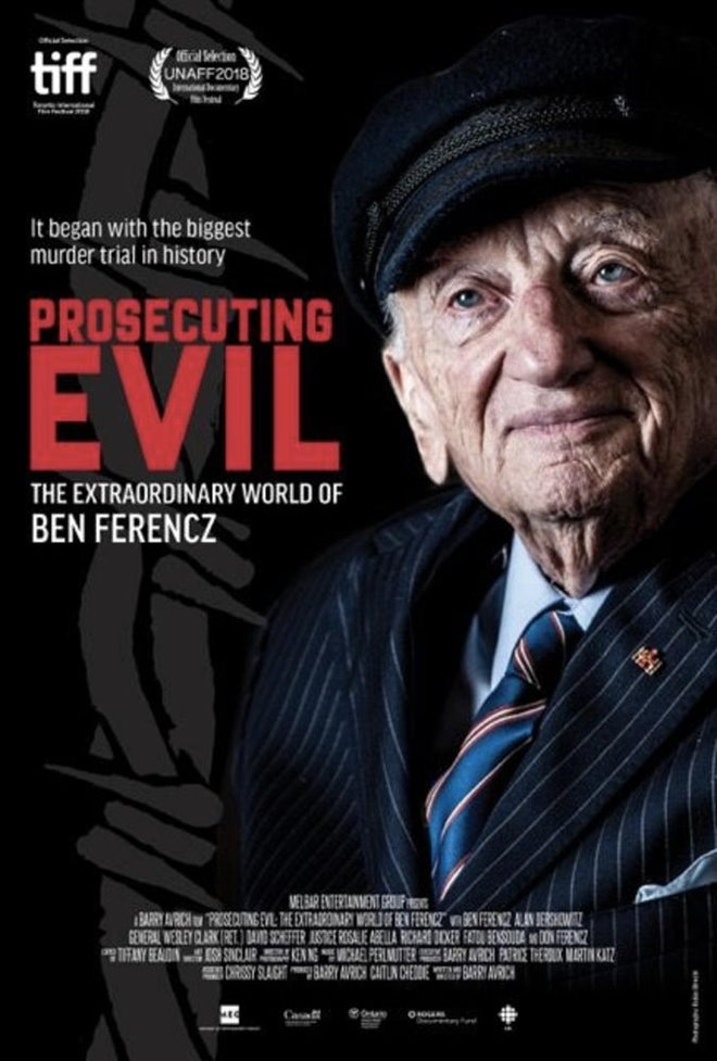 Prosecuting Evil: The Extraordinary World of Ben Ferencz (v.o.a.) Large Poster