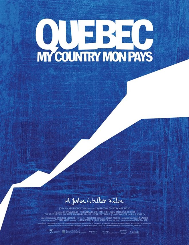Quebec My Country Mon Pays Large Poster