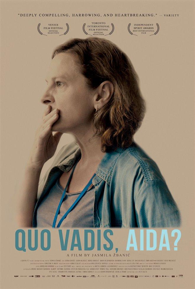 Quo Vadis, Aïda? Large Poster