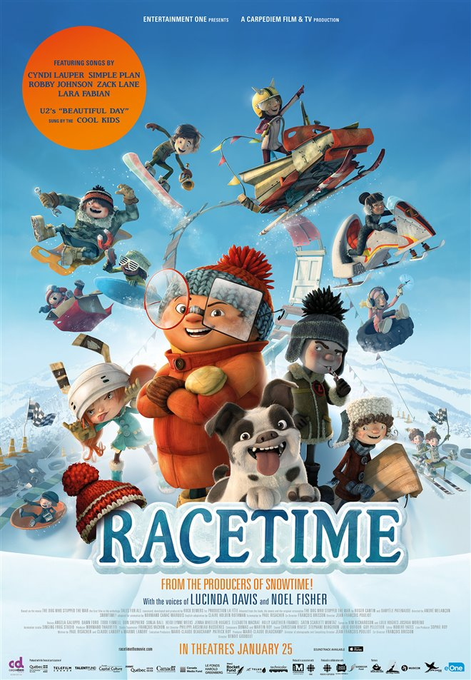 Racetime Large Poster