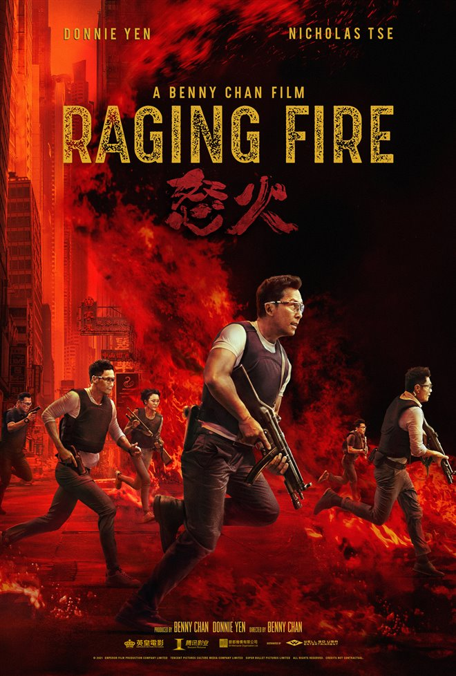 Raging Fire Large Poster