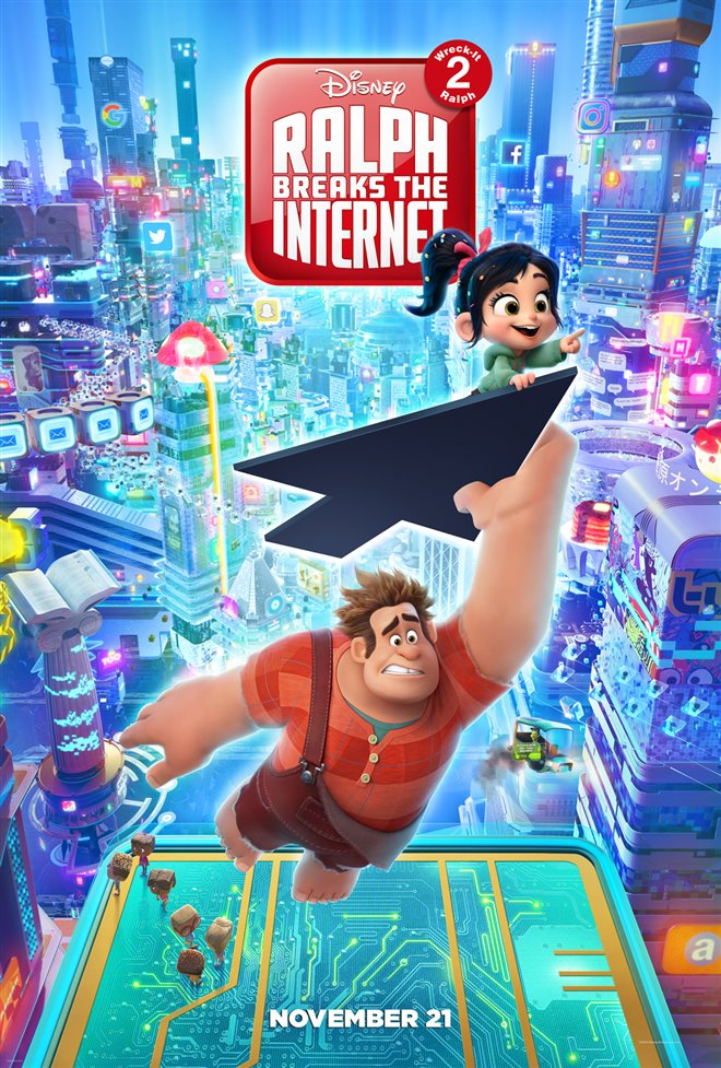 Ralph Breaks the Internet Large Poster