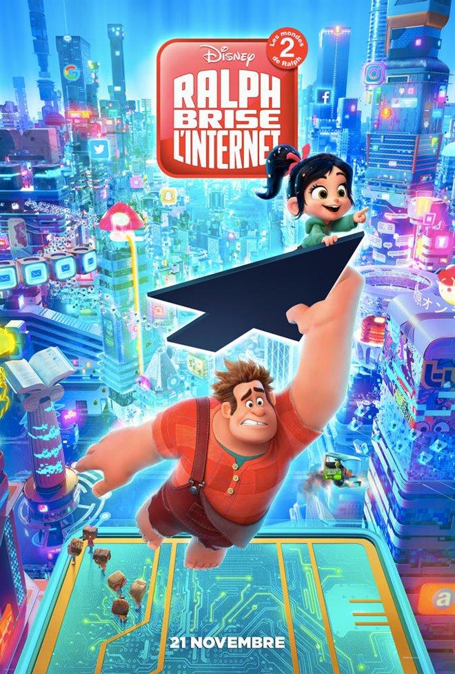 Ralph brise l'internet : Les mondes de Ralph 2 Large Poster