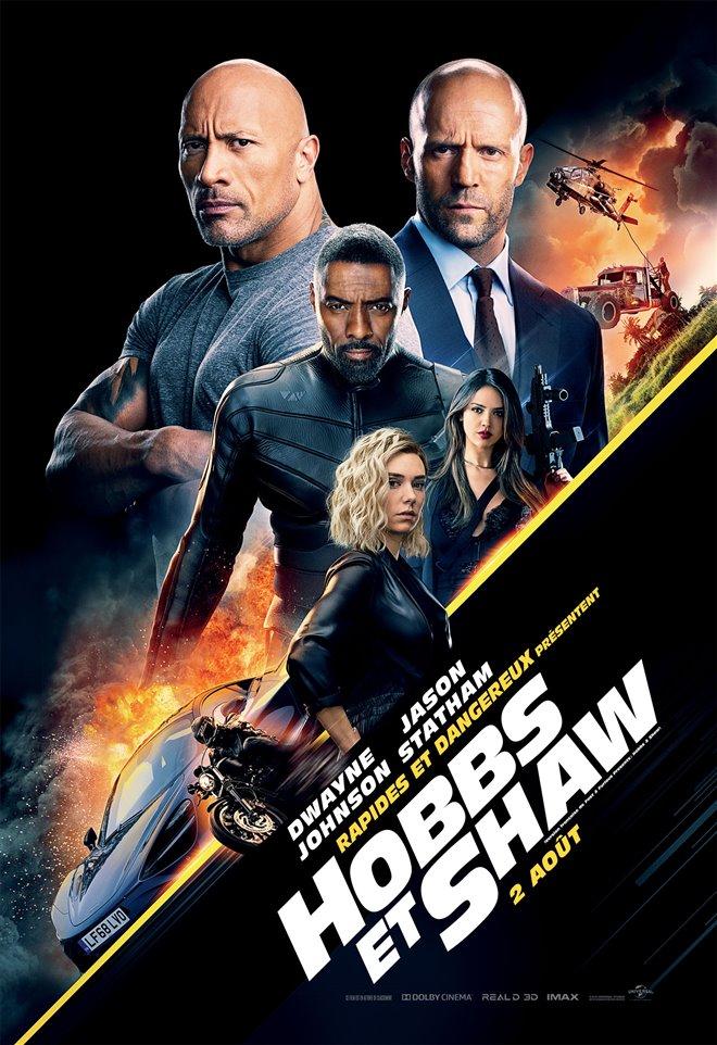 Rapides et dangereux présentent : Hobbs et Shaw Large Poster