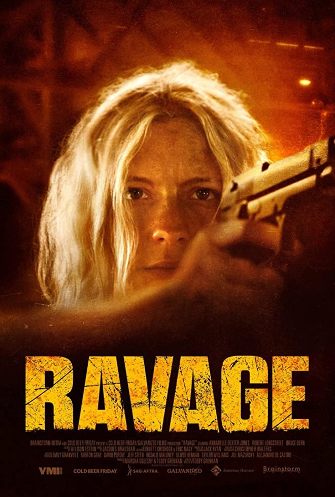 Ravage Large Poster