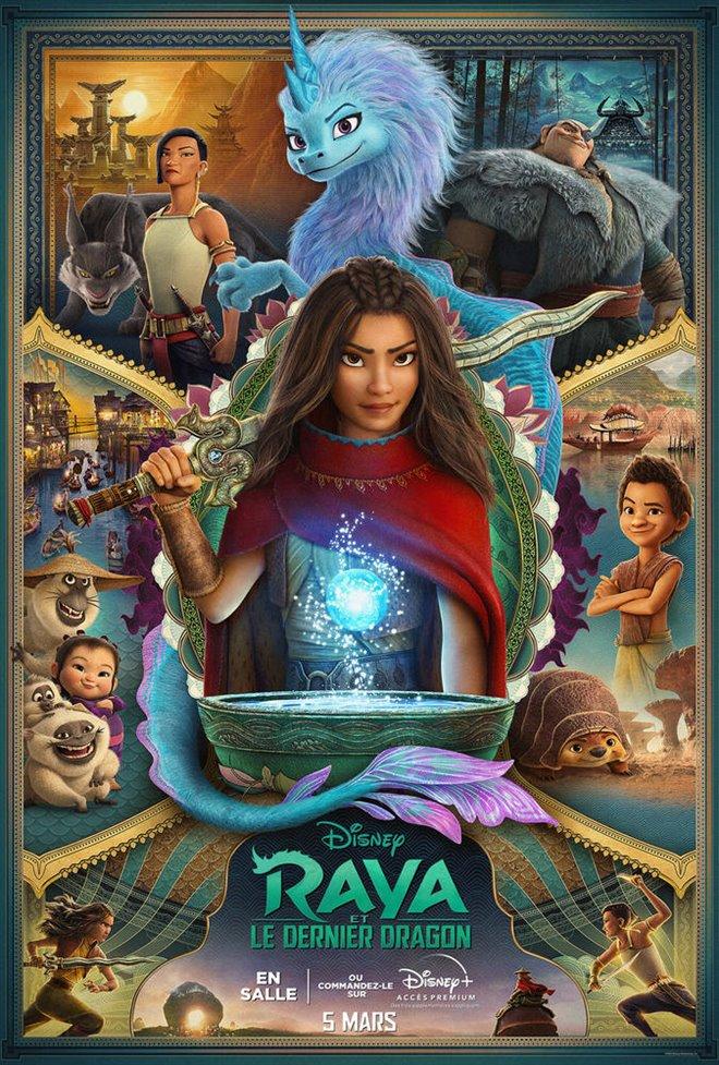 Raya et le dernier dragon Large Poster