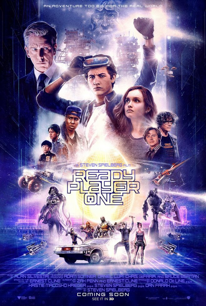 Ready Player One Large Poster