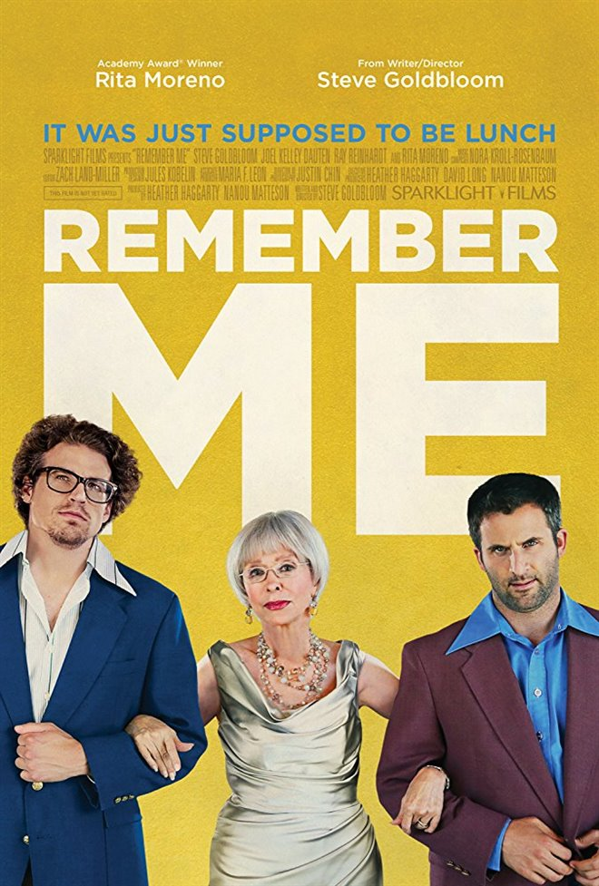 Remember Me Large Poster