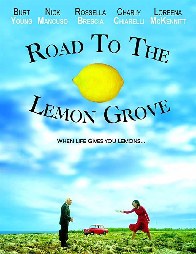 Road to the Lemon Grove Large Poster
